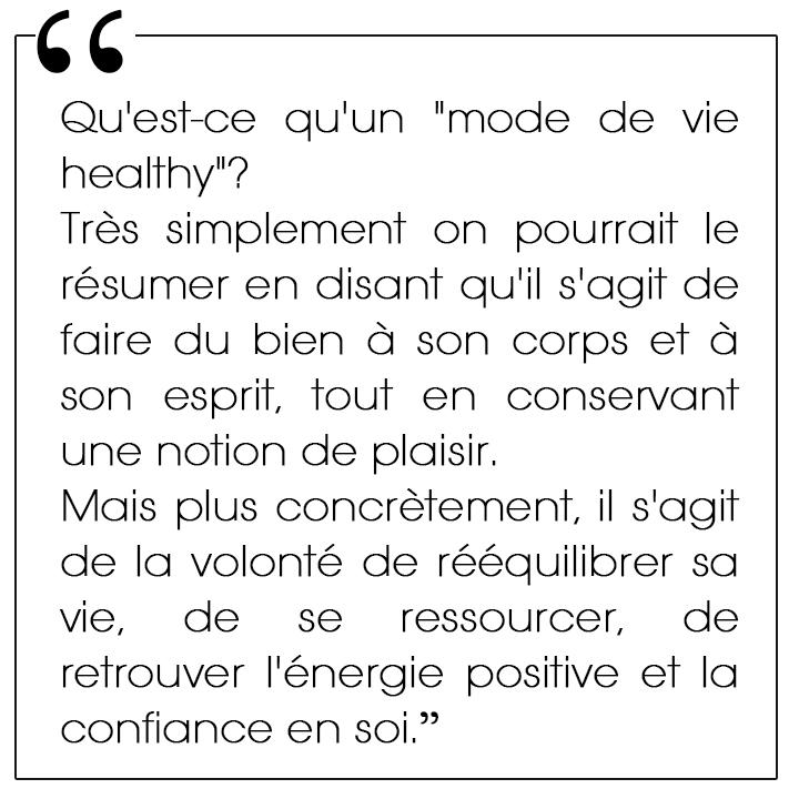 healthy routines du matin citation